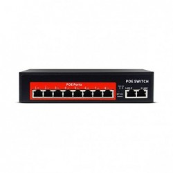 jvs s10 8p 8port poe network switch